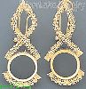 14K Gold Bola (Coin) Earrings
